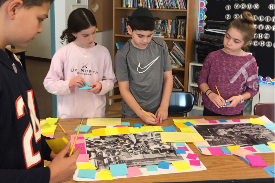 5th and 6th graders explore the history of jews in america blog